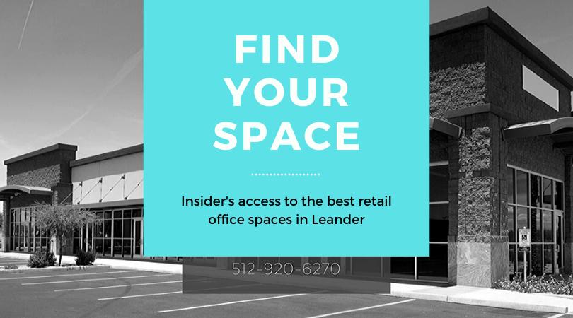retail space leander